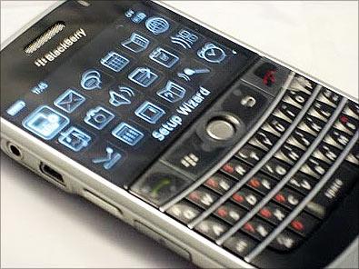 BlackBerry faces ban.