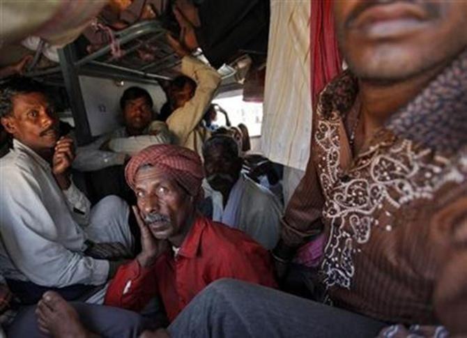 India's train ride