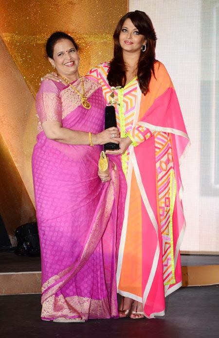 Vrinda Rai and Aishwarya Rai Bachchan